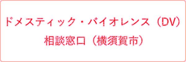 ドメスティック・バイオレンス(DV)相談窓口(横須賀市)